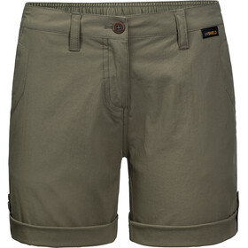 Jack Wolfskin Desert Shorts Women woodland green